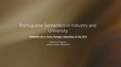 """The Thirteenth International Conference on Advances in Semantic Processing"" – SEMAPRO 2019"